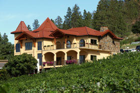 Gray Monk Front and Vineyard