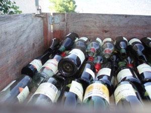 Bottles in Bin