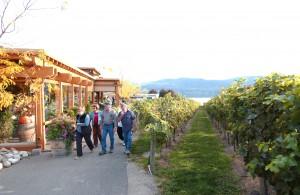 Quails' Gate Winery Tour